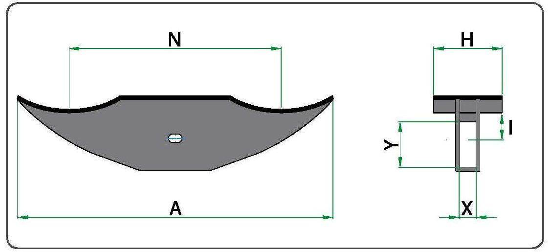Технический рисунок насадок для 2-х или 4-х бочек